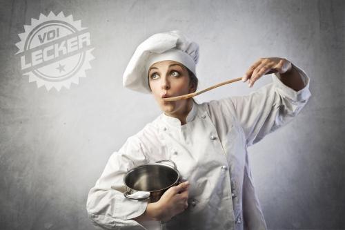 VOI Lecker Köching beim Produktcheck
