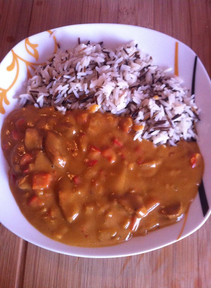 Chicken und Reis