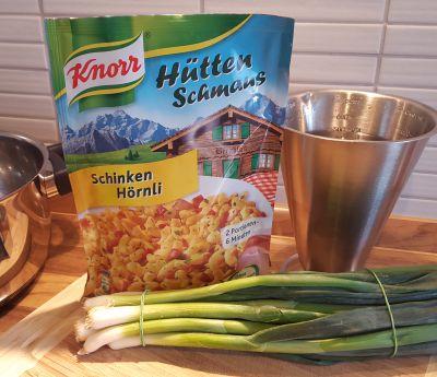 Knorr Hüttenschmaus Schinken Hörnli