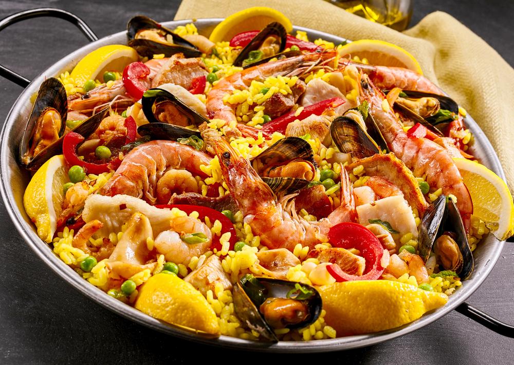 Reisgericht Paella
