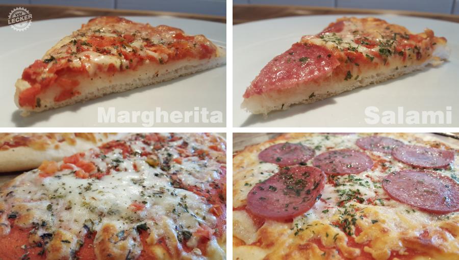 Gluenfreie Pizza im Geschmackstest