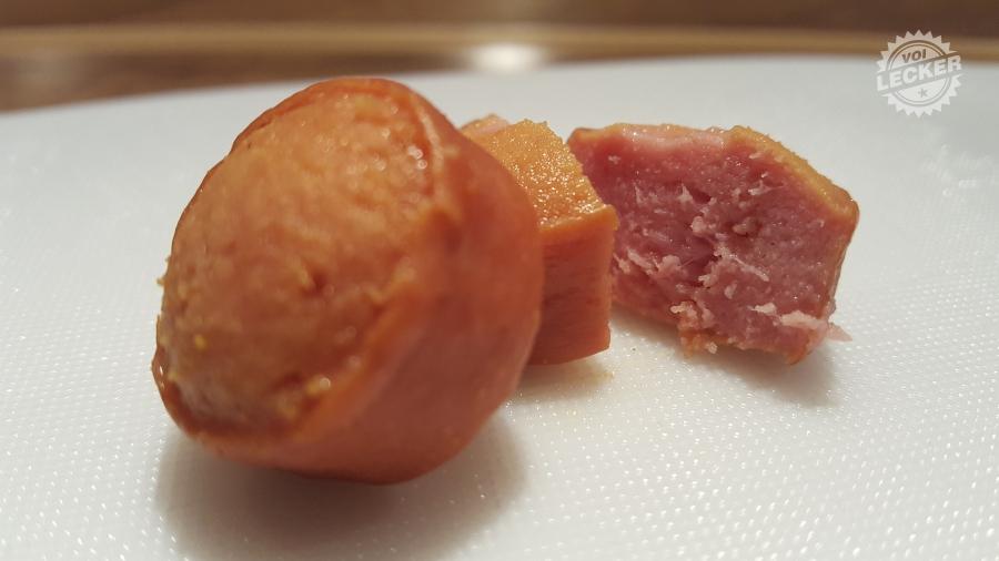 Detail der CurryKing Wurst