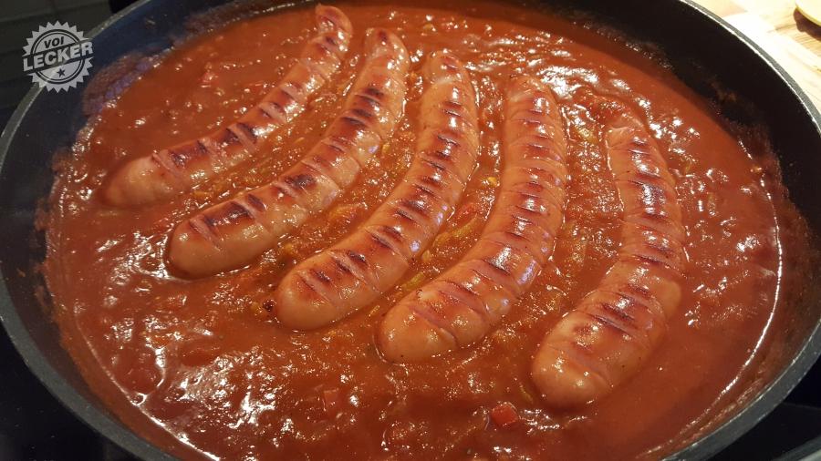 Currywurst Rezept Schritt 5