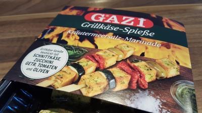 Grillkäse Spieße von GAZI