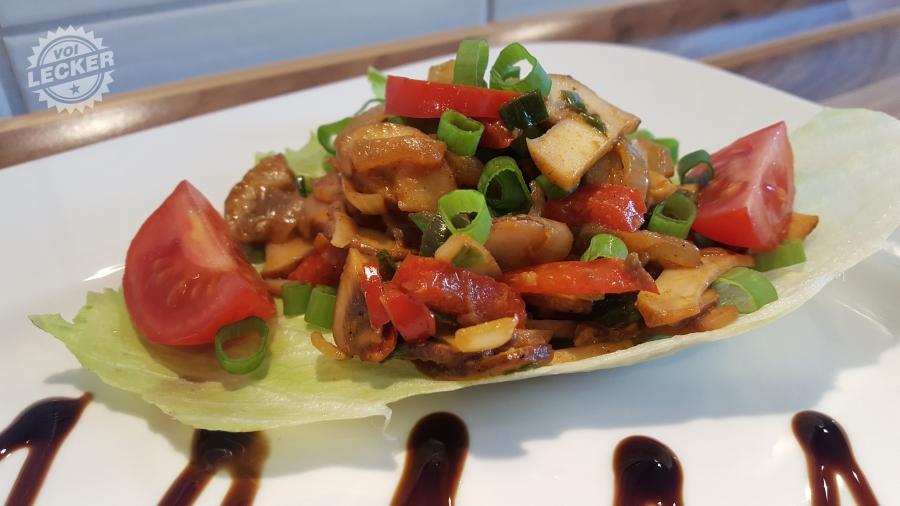 Pilz-Paprika-Zwiebel Chutney