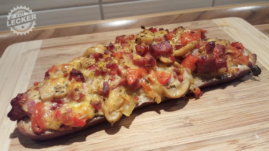 Bayerwald Pizzabrot