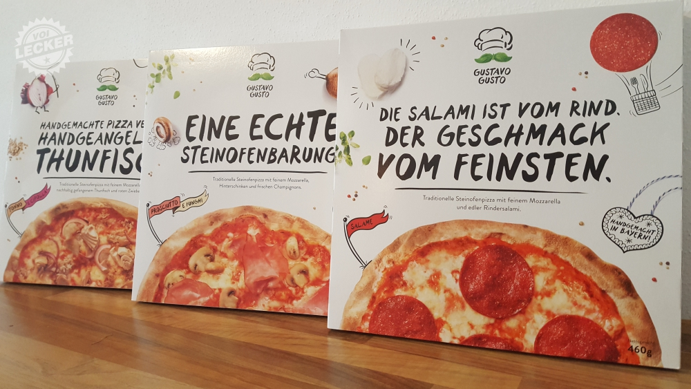 Gustavo Gusto TK-Pizzen