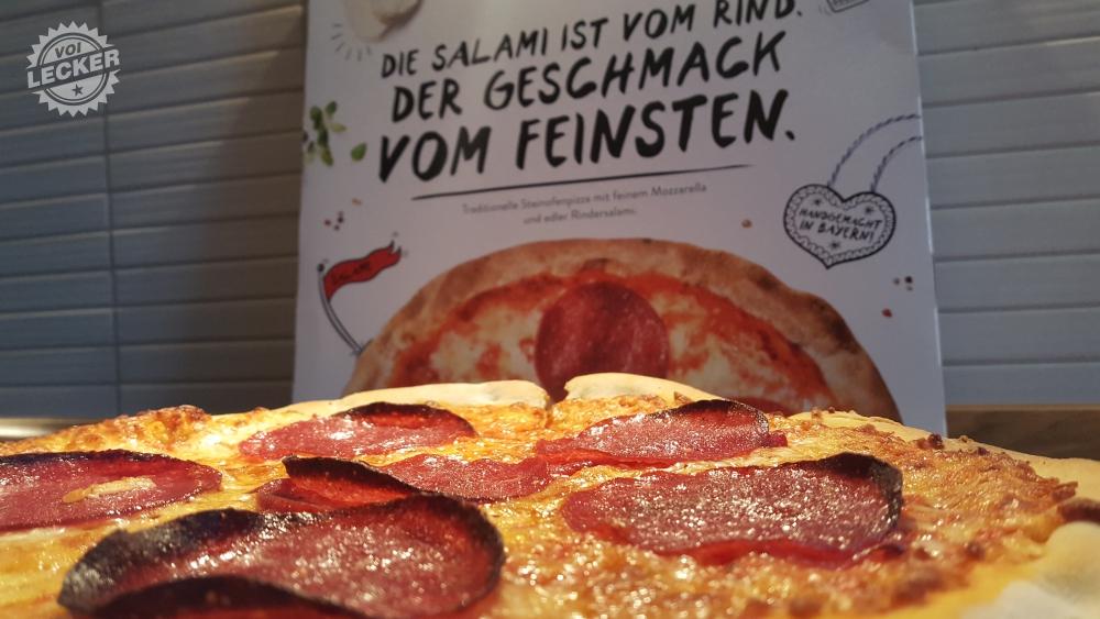 Pizza Salami von Gustavo Gusto