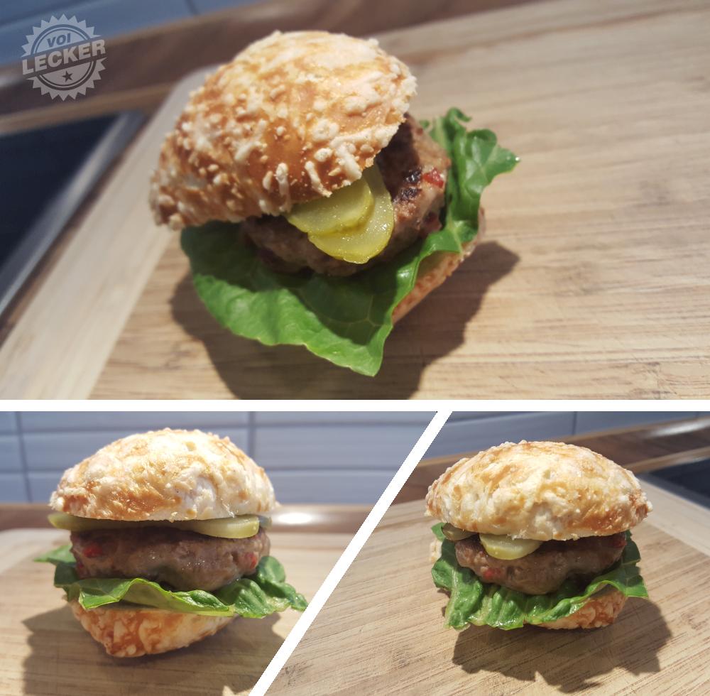 Mini Burger für Kids