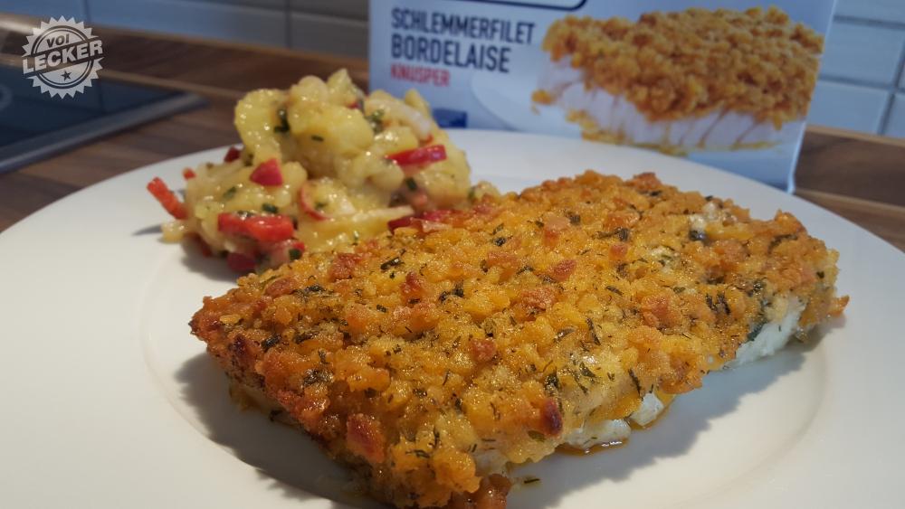 Schlemmerfilet mit Kartoffelsalat