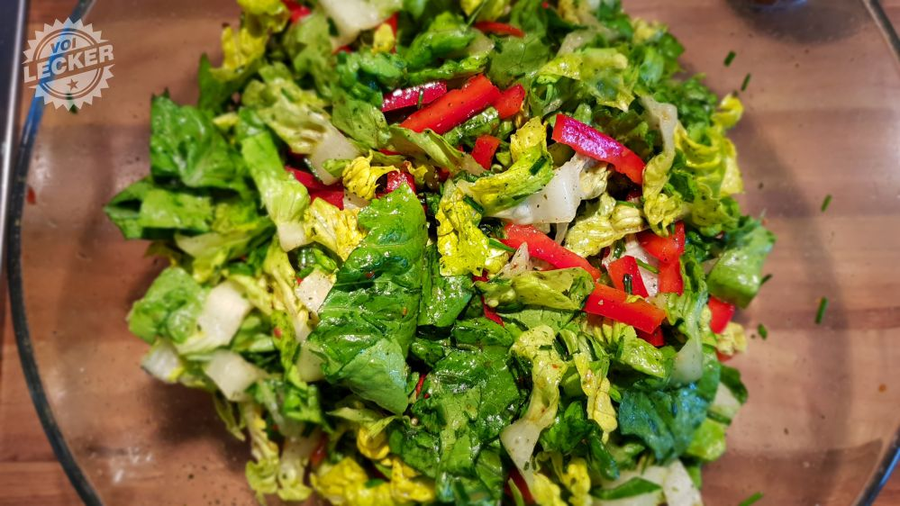 """Salatmischung mit """"Wilde Hilde"""""""