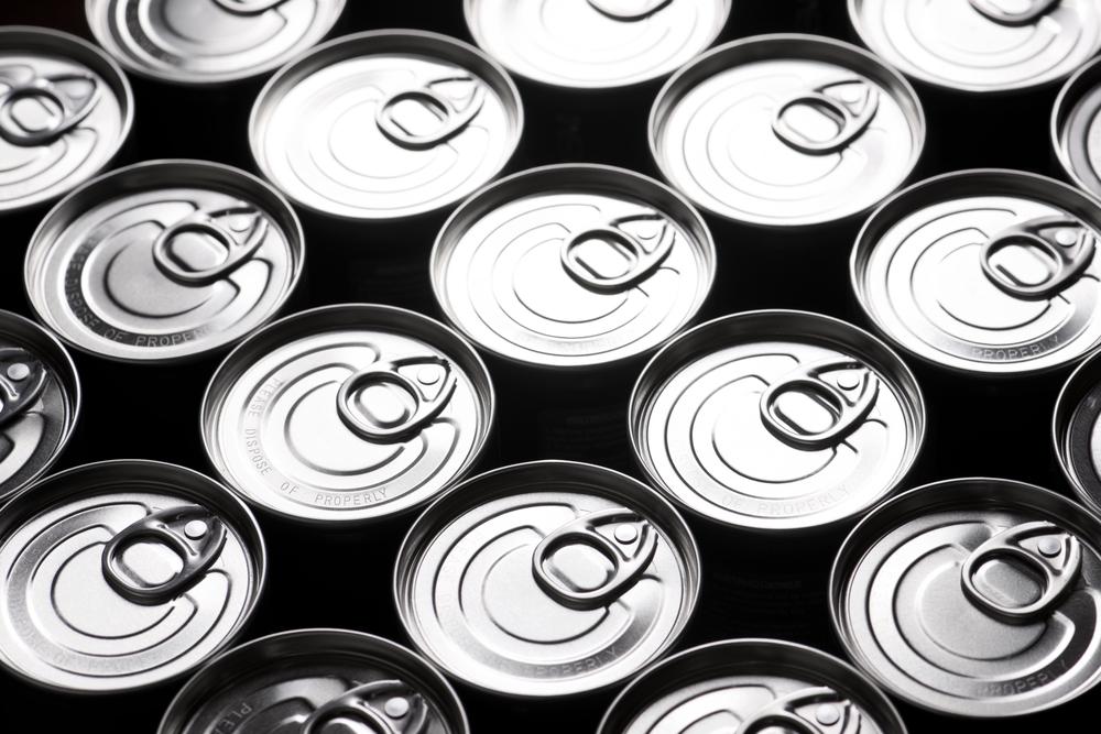 Konservendosen für Geränke