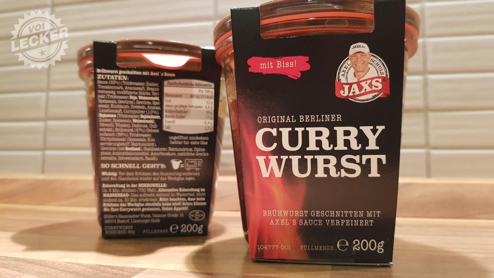 JAXS Currywurst