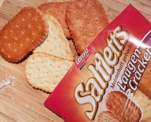 Saltletts LaugenCracker Test