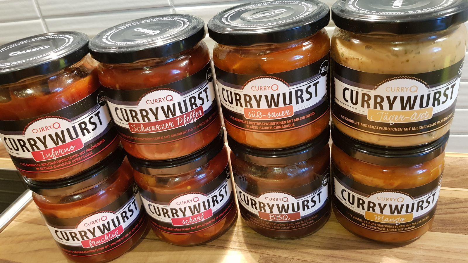 CurryQ Currywurst
