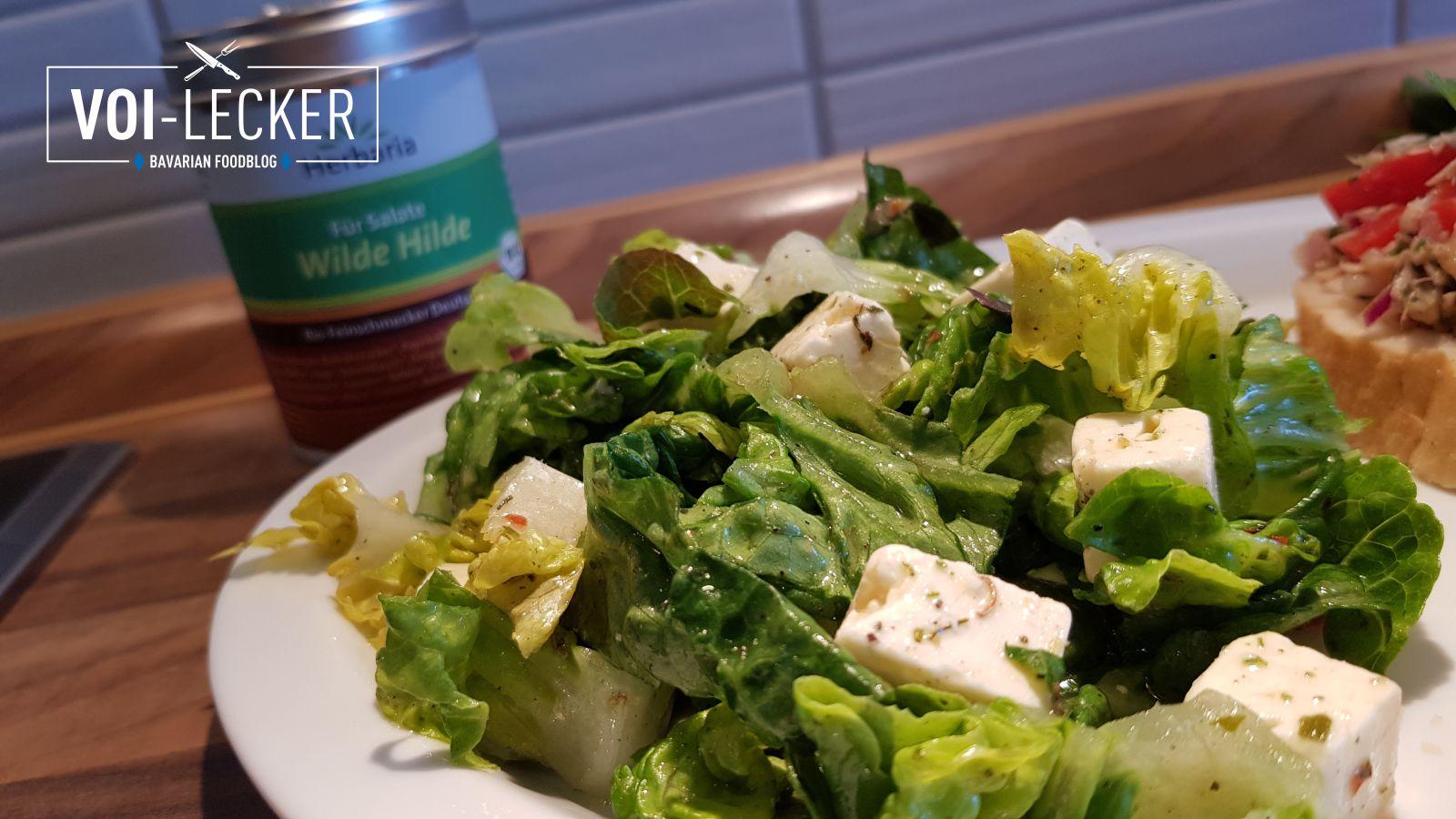 Romana Salat mit Feta