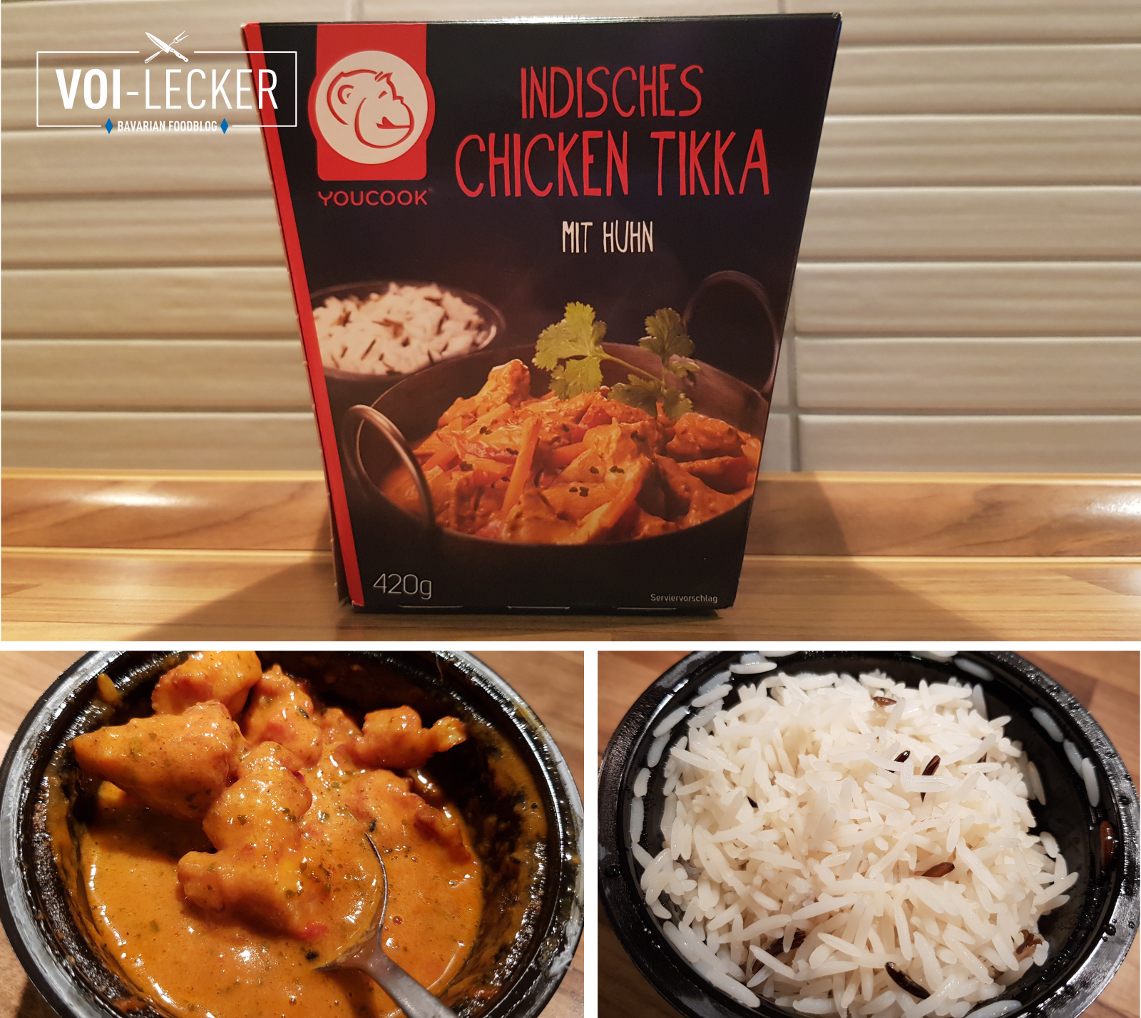 Indisches Chicken Tikka