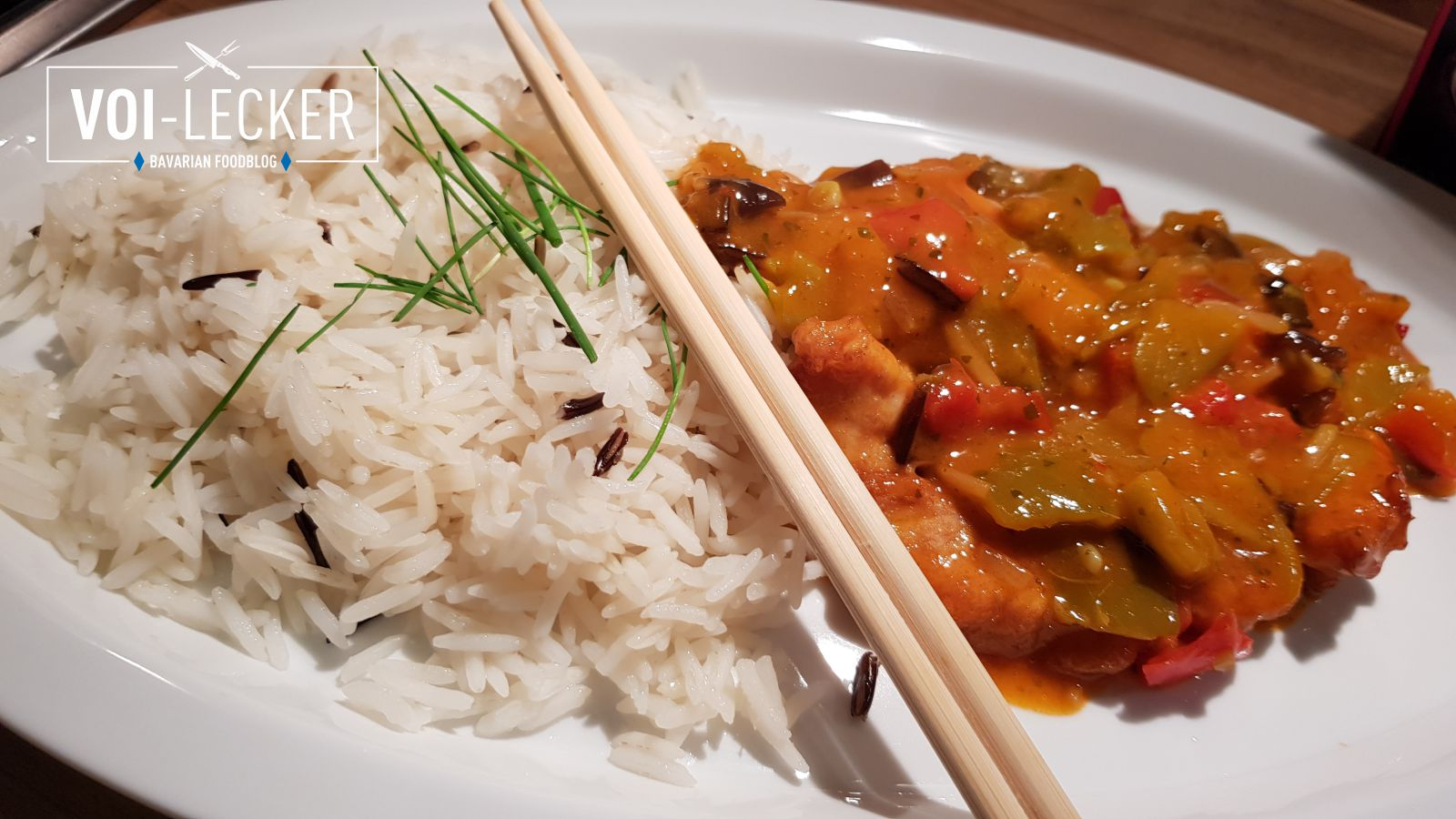 Thai Curry mit Reis