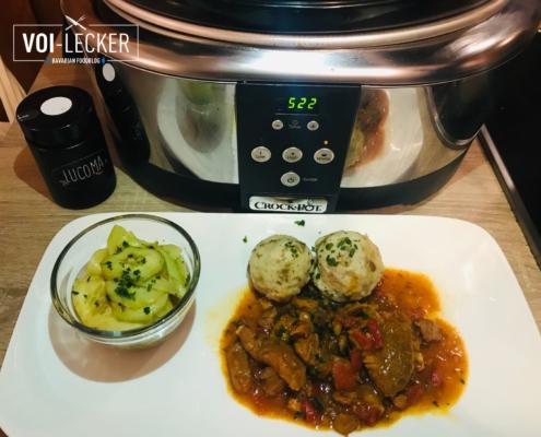 Gericht aus dem Crock-Pot
