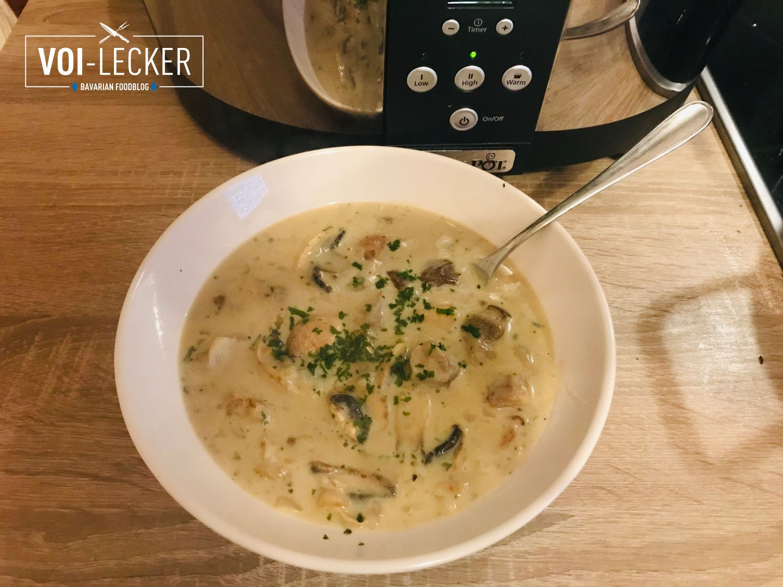 Suppe aus dem Crock-Pot