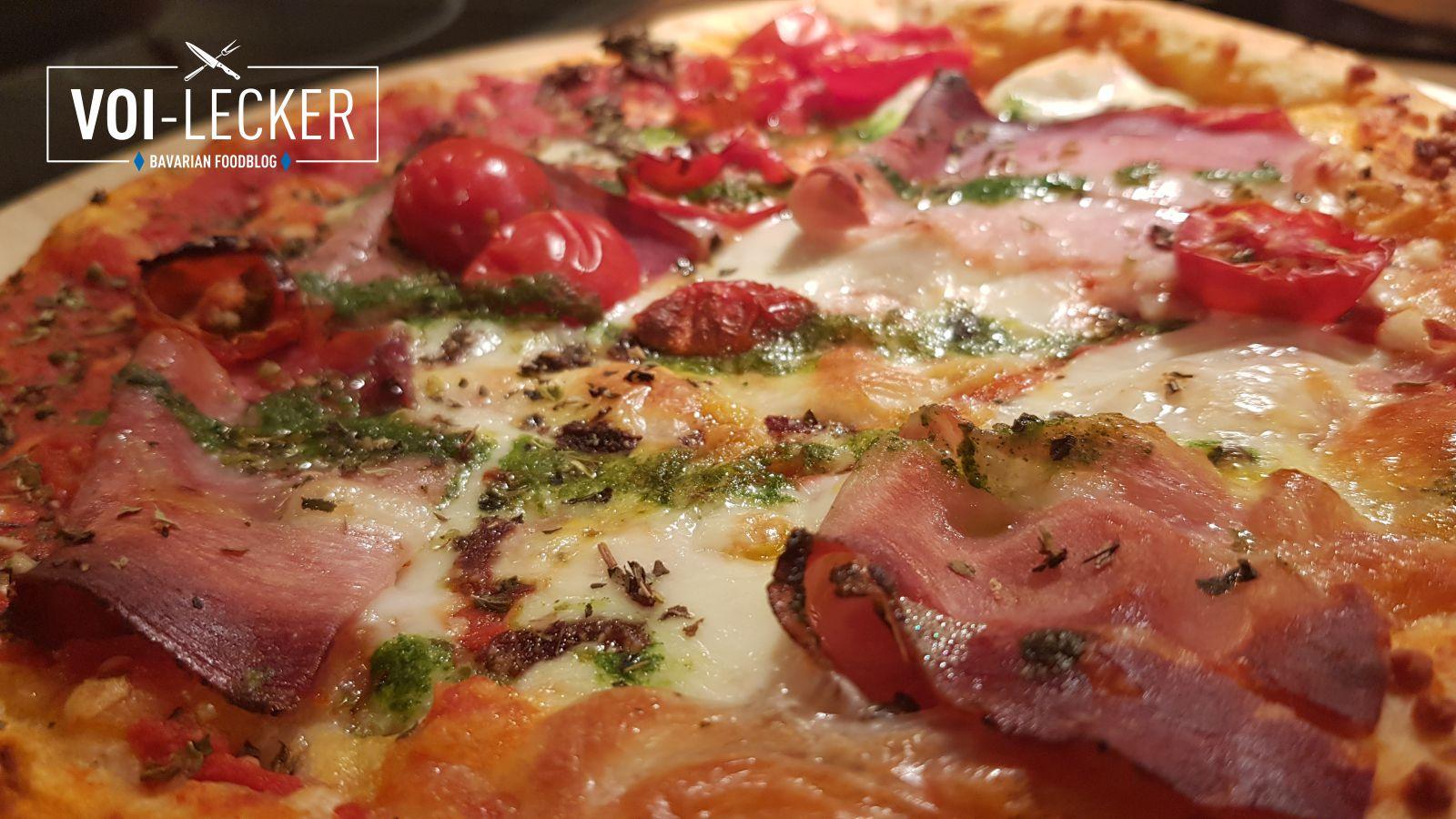 Belag der Ernst Wagners Pizza