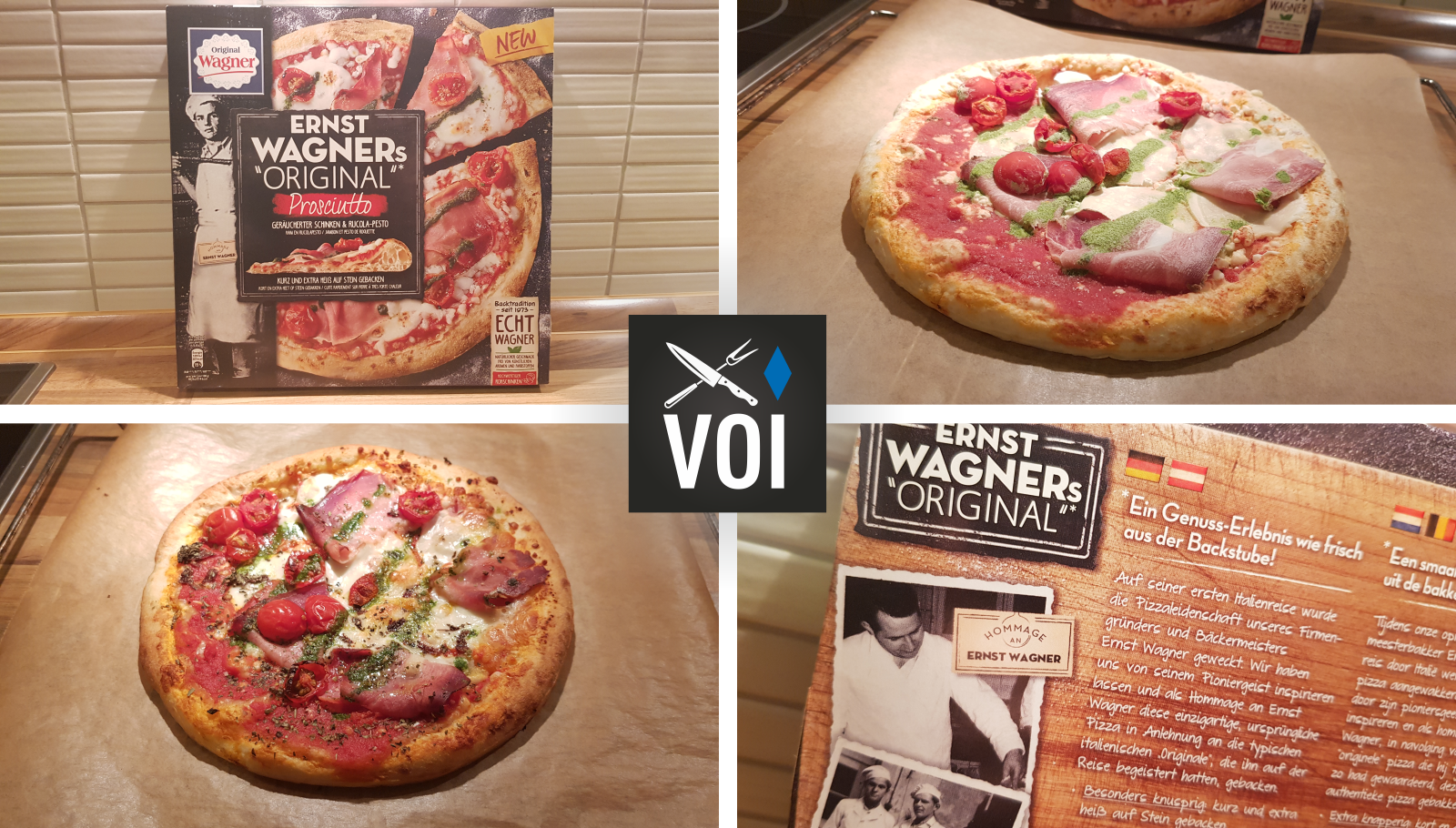 Ernst Wagners Pizza Test