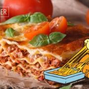 Garfield Lasagne Bolognese