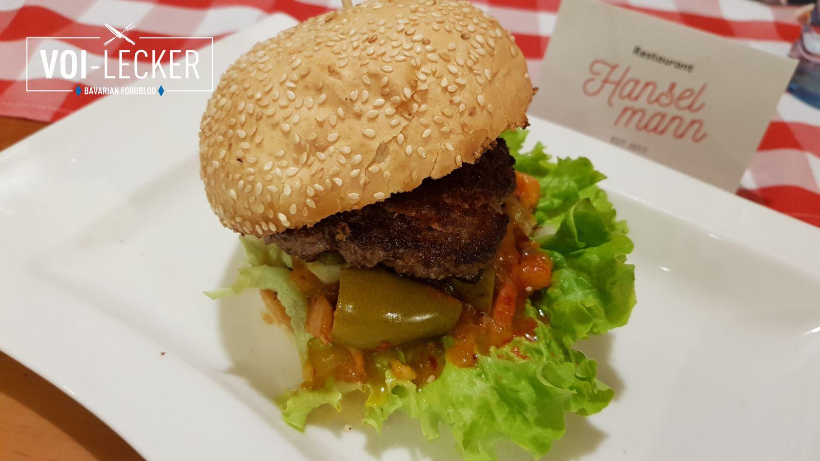 Mr Mango Salsa Burger