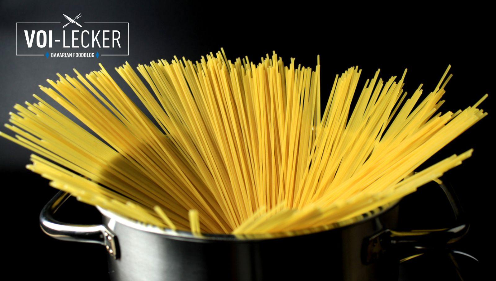 Spaghetti richtig kochen