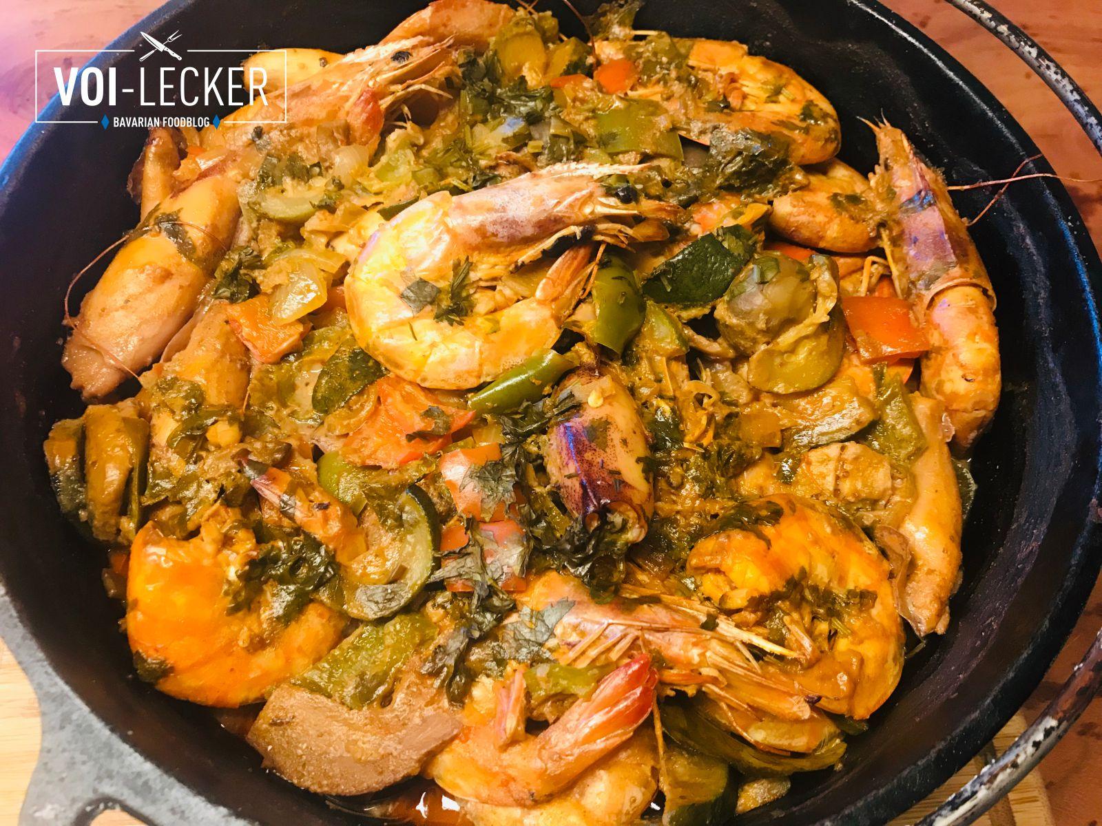 Meeresfrüchte Thai-Curry