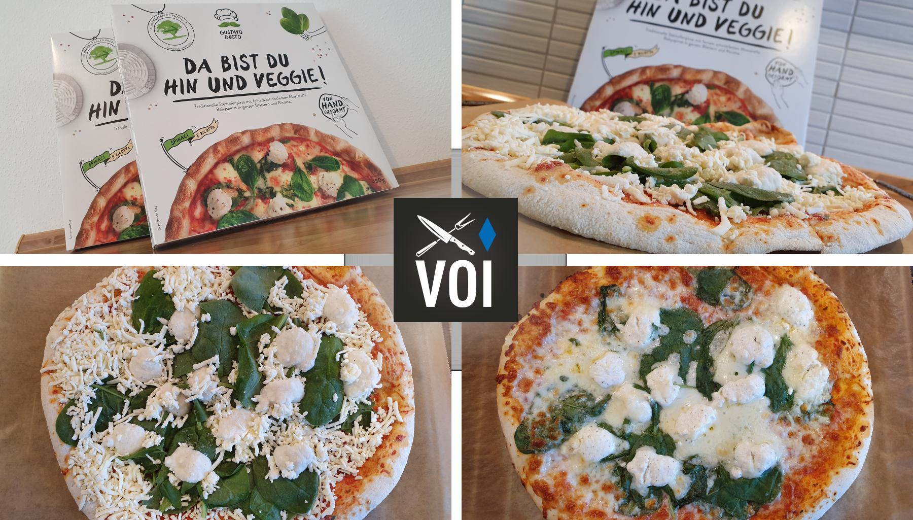 Gustavo gusto pizza test